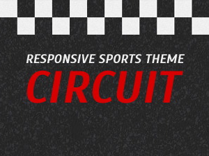 Motorsport theme for Wordpress